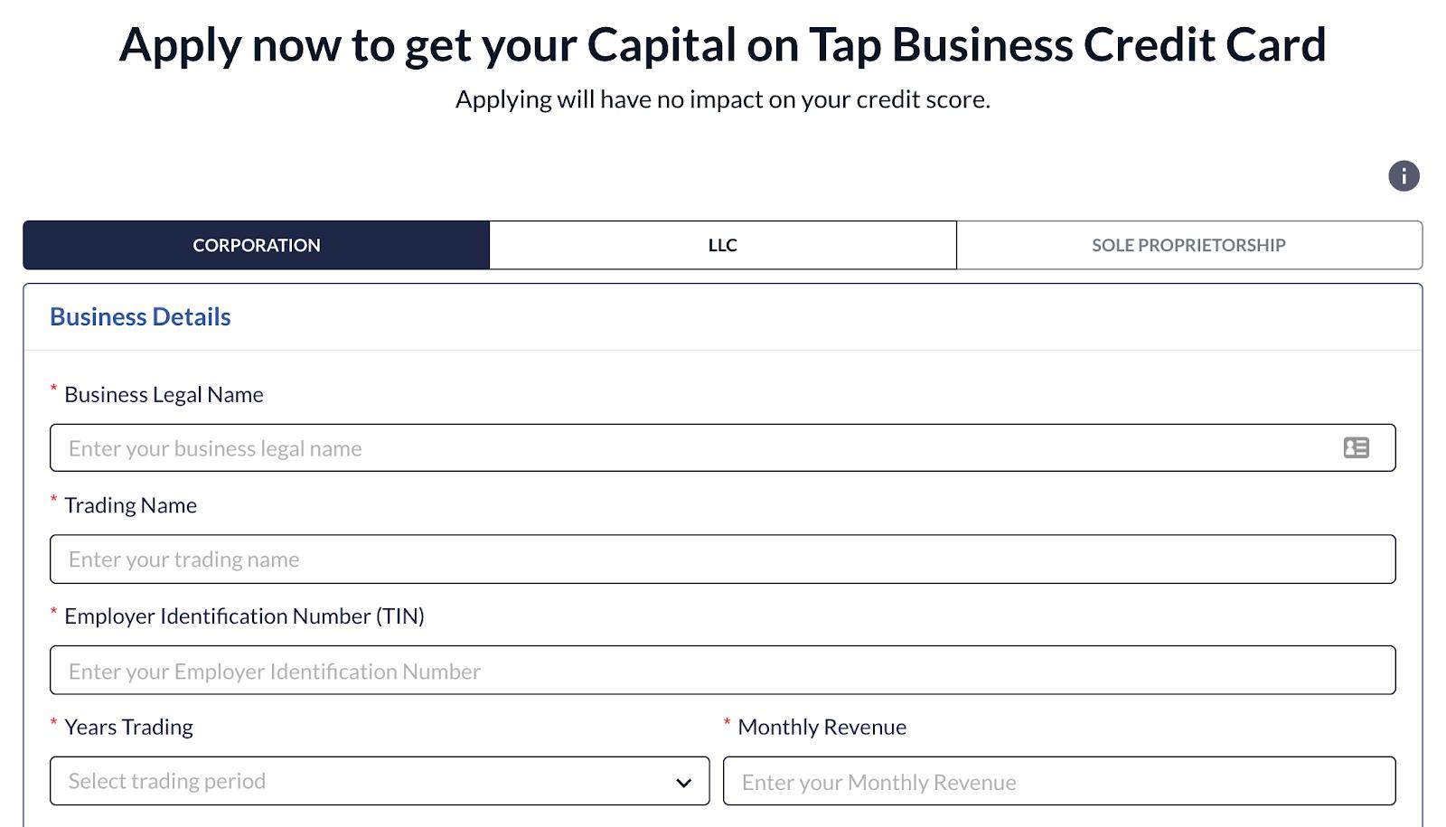 Capital on Tap login