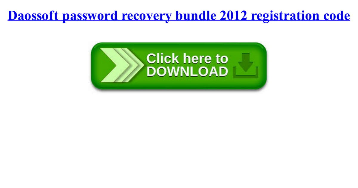 daossoft outlook password rescuer serial