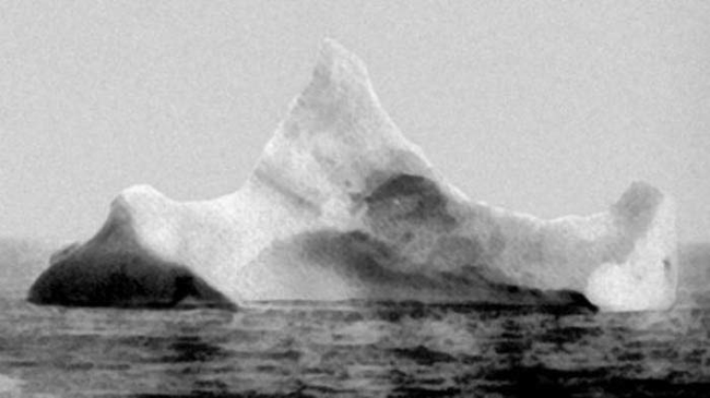 05 - The iceberg believed to have sunk the Titanic