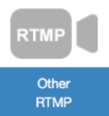 RTMP Button in Wowza Streaming Cloud GUI Management Portal