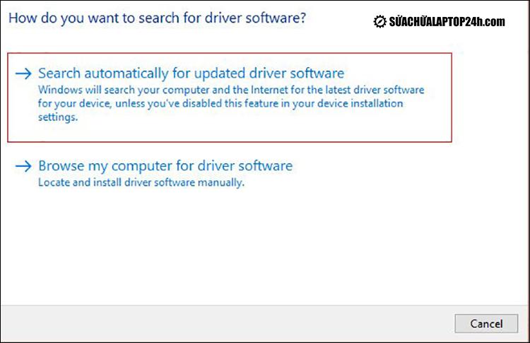 Hoàn tất quá trình cập nhật Driver âm thanh