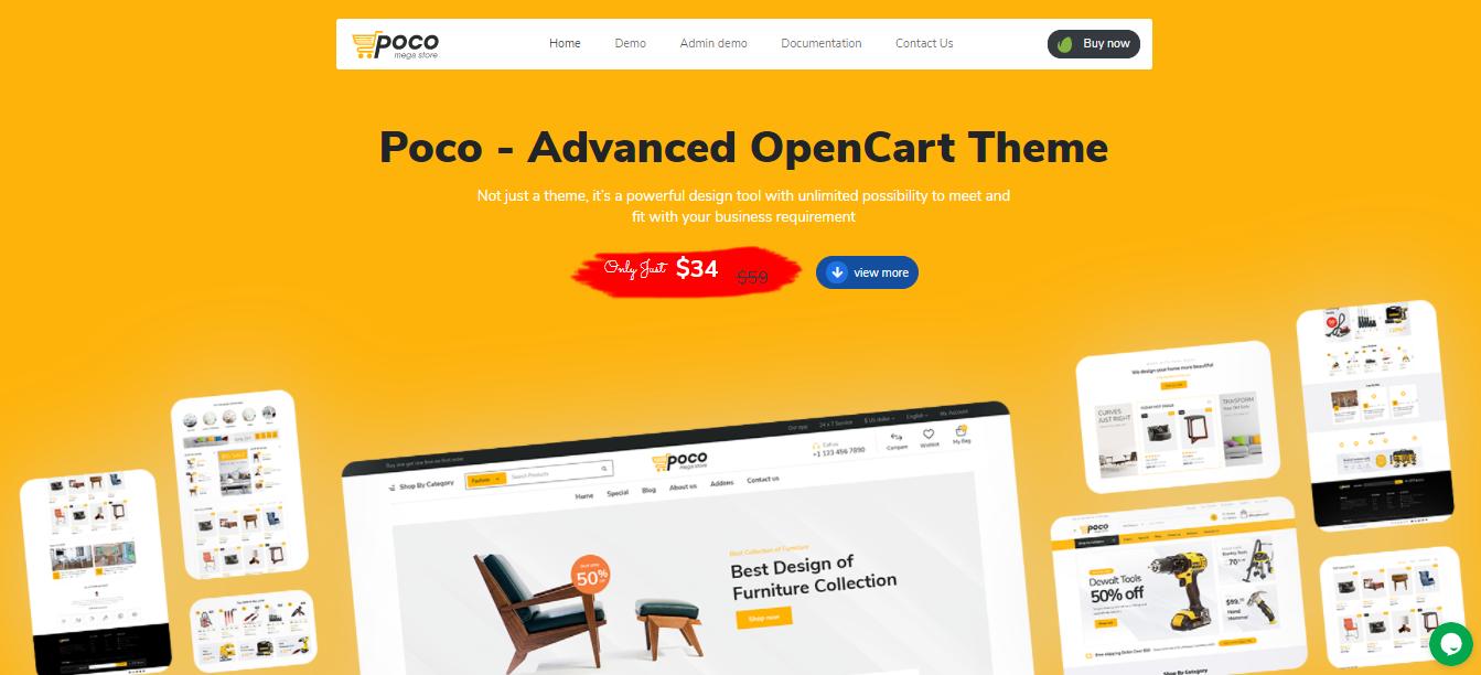 Poco - Opencart ecommerce theme