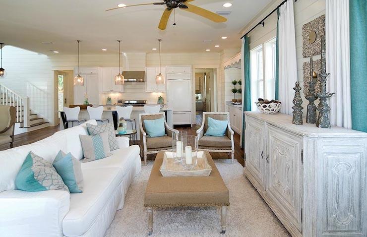 Coastal Inspired Living Rooms Hotpads Blog