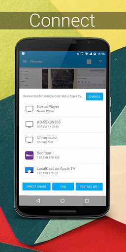 LocalCast for Chromecast- screenshot thumbnail