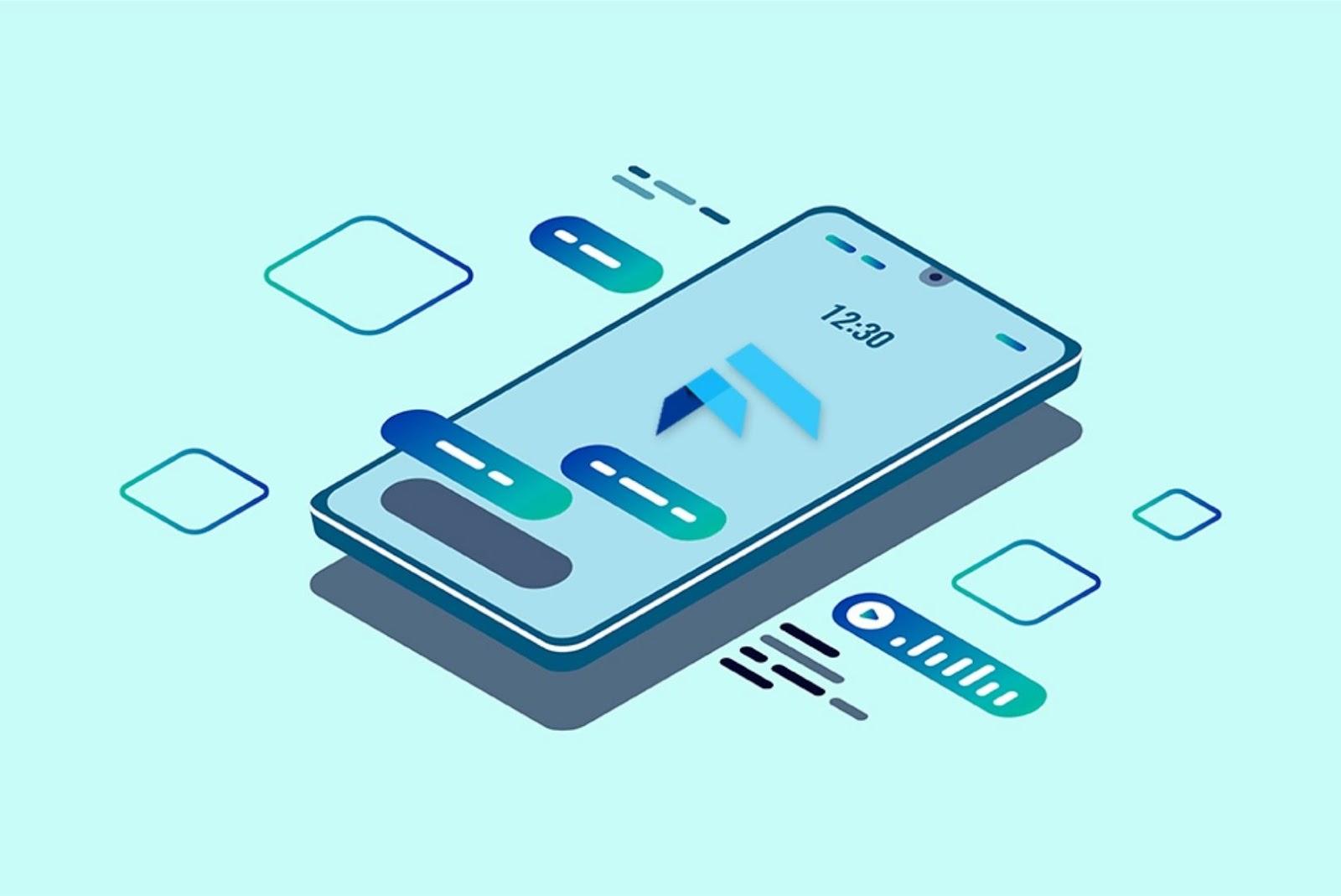 Cross-platform apps makes flutter