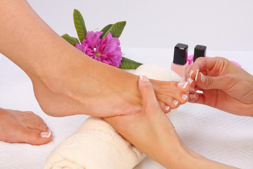 Шлифовка ногтей на ногах