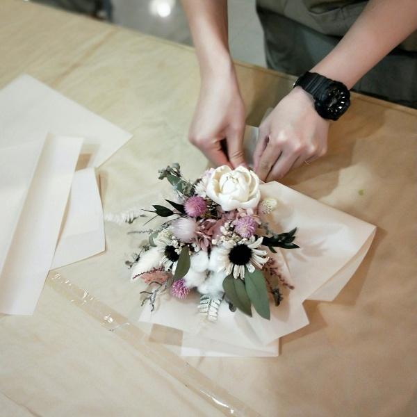 女友禮物-乾燥花花束