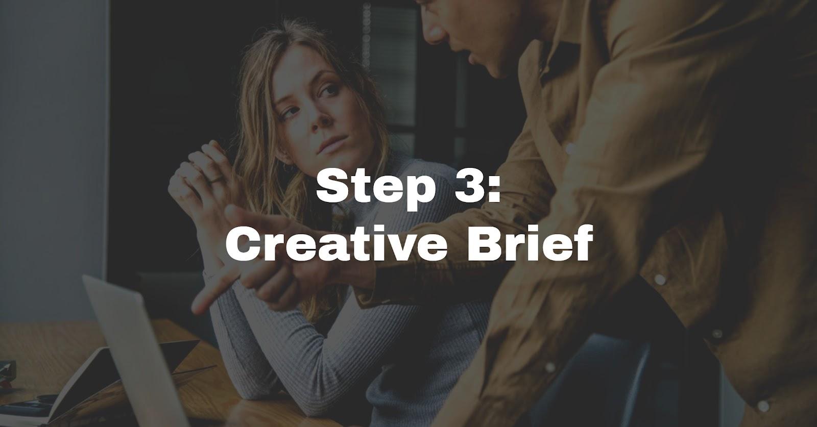 planning website brief