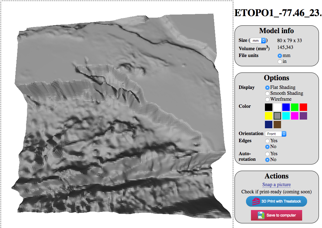 How to make a 3D MAP from Earth? TouchTerrain: Easily Create