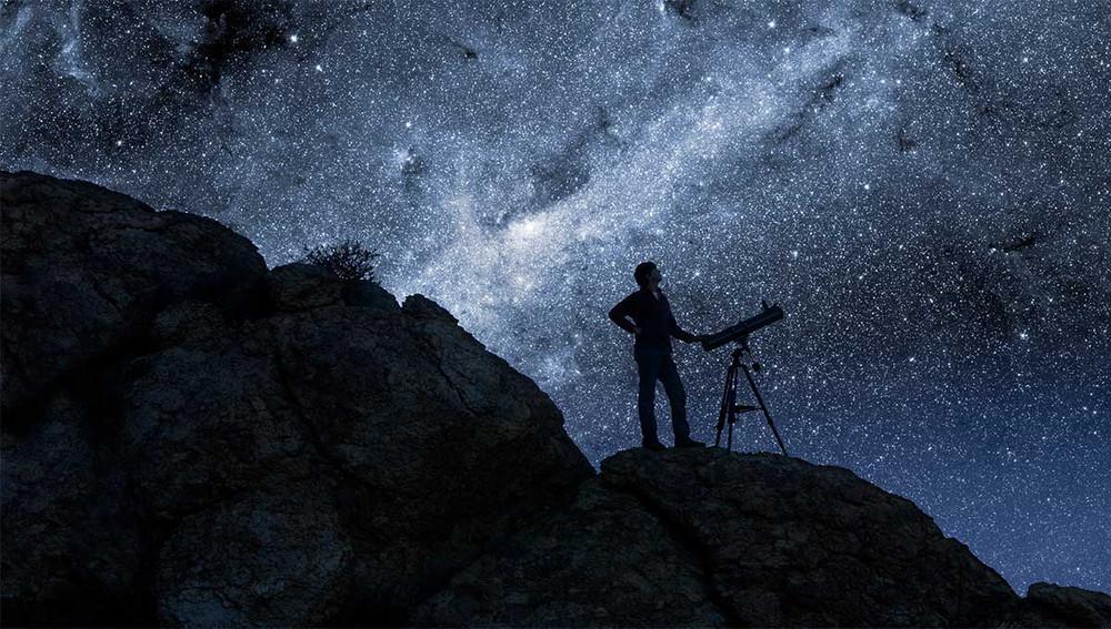 ¡Imagínate que este puedes ser tú cuando ya seas un experto astrónomo!