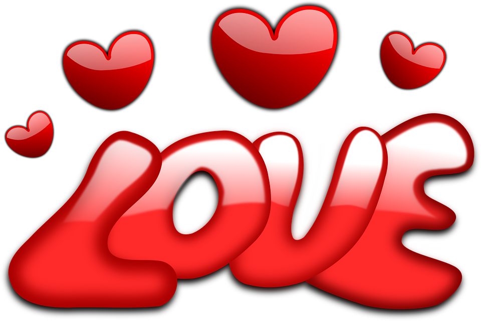 Love, Hearts, Valentine, Gloss ...
