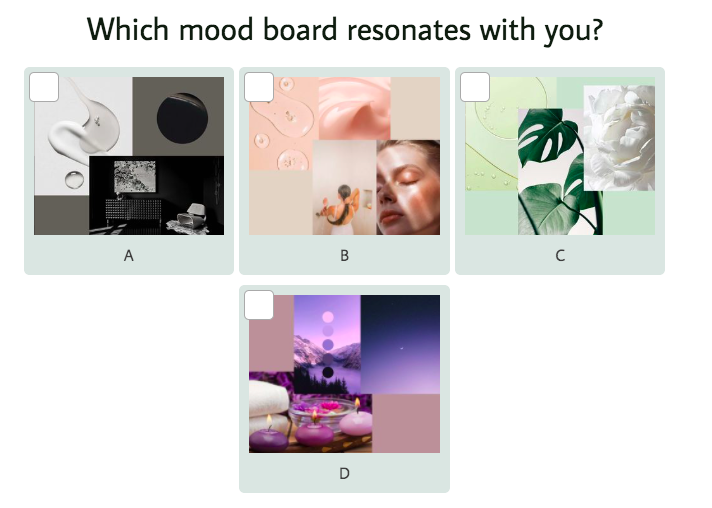 mood question with answer images
