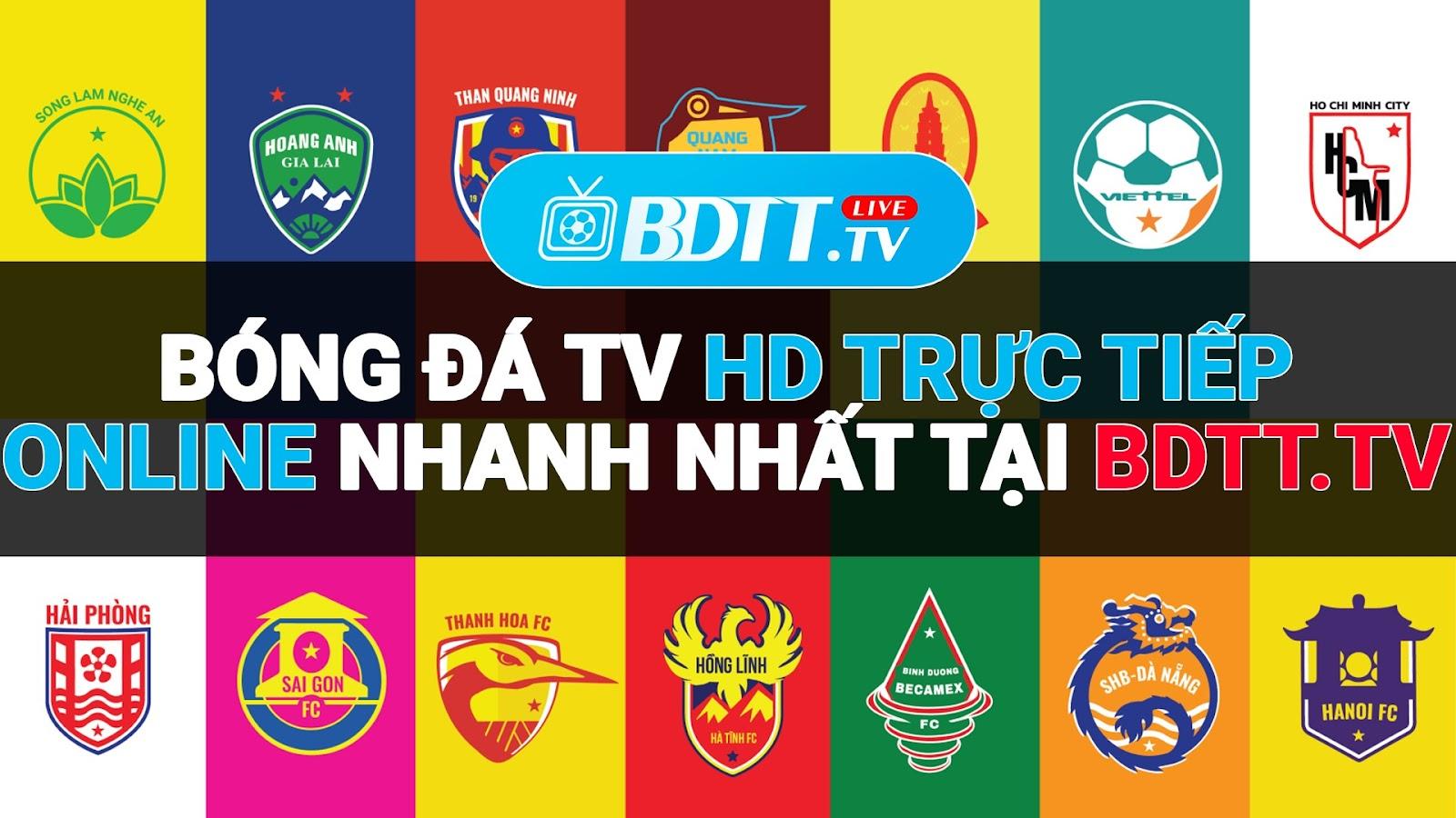 Trải nghiệm xem bóng đá trực tiếp tại kênh BDTT.tv - Xem trực tiếp bóng đá miễn phí, là trải nghiệm những giây phút được chờ đợi, hồi hộp, hưng phấn, lên cao trào khi được chứng kiến những pha sút bóng đầy nội lực của các siêu sao bóng đá