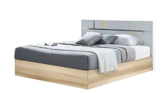Giường gỗ công nghiệp Noz