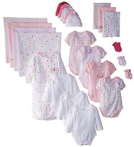 Spasilk's 23 Piece Baby Essential Layette Gift Set