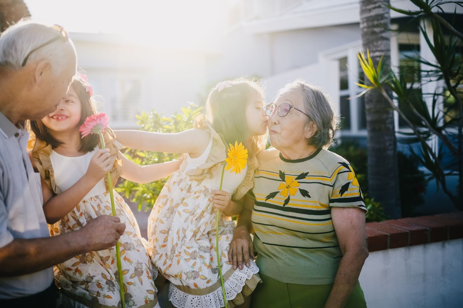 grandparents and kids