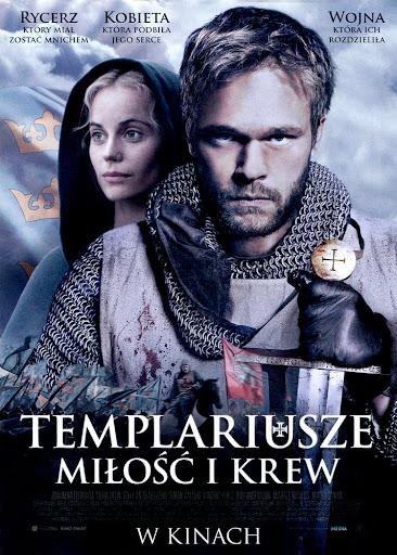 Przód ulotki filmu 'Templariusze. Miłość i Krew'