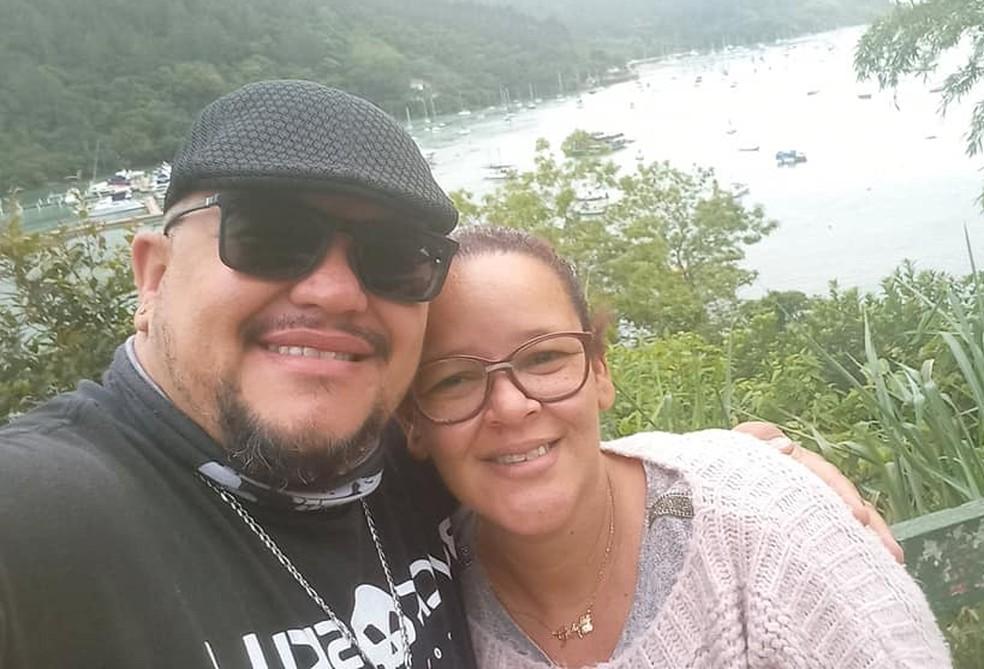 Pais de Ryan, Ecio e Fernanda, em dezembro de 2020 — Foto: Arquivo pessoal