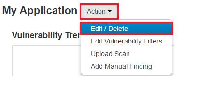 Open the application settings in ThreadFix