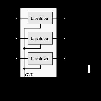 line driver IC