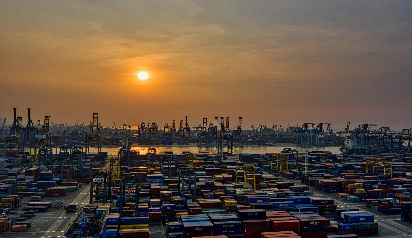 Port of Guangzhou, China