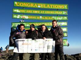 Leading UK chefs triumph on peak of Kilimanjaro