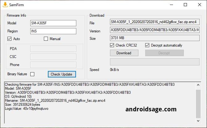 تنزيل التحديث الرسمي لنظام Android 10 لهاتف Samsung Galaxy A30