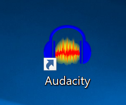 Audacity desktop icon