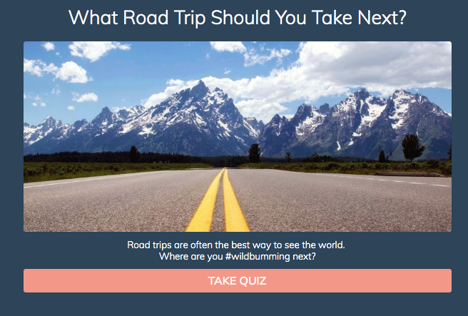 Which road trip should you take next? quiz cover