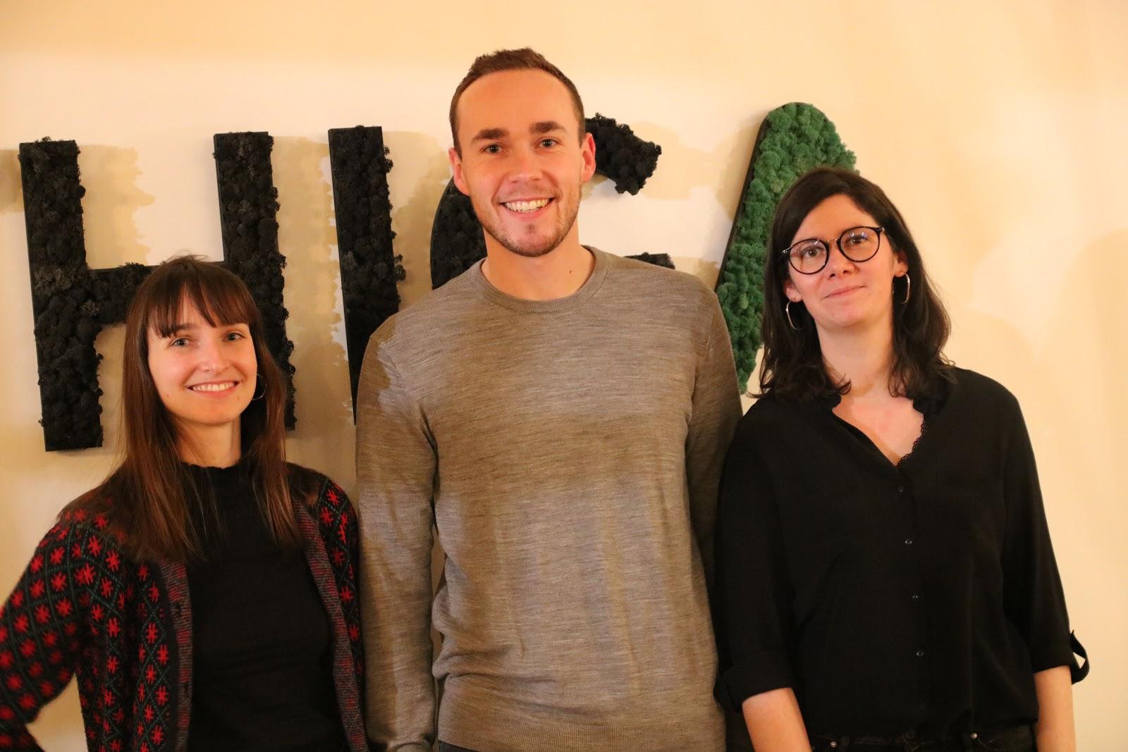 Anne-Laure, Maxime et Alexandra