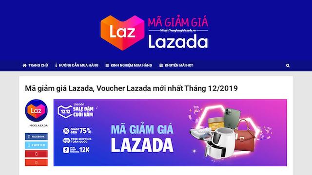 Bật mí vì sao hệ thống báo mã giảm giá Lazada không hợp lệ?