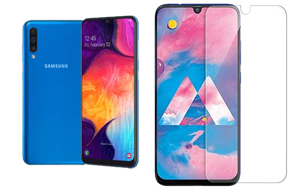 Layar Super AMOLED Samsung Galaxy A50