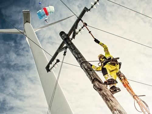 Blaklader werkkleding veiligheidskleding klimmen Blåkläder