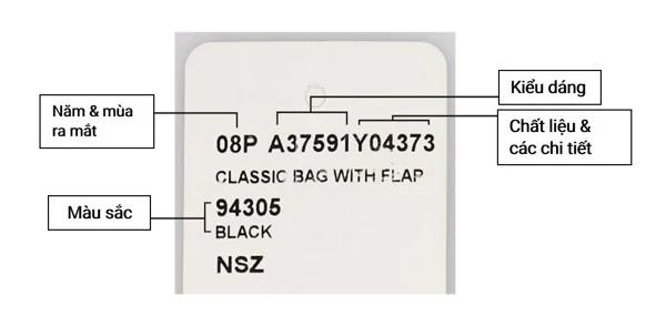 Cách check code túi Chanel