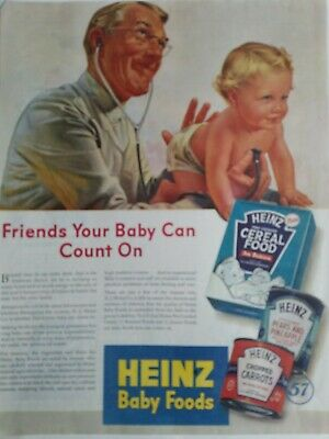 how to make baby food -- Heinz, 1900s