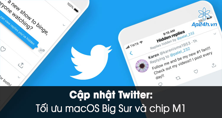 Cap nhat Twitter toi uu cho macOS Big Sur