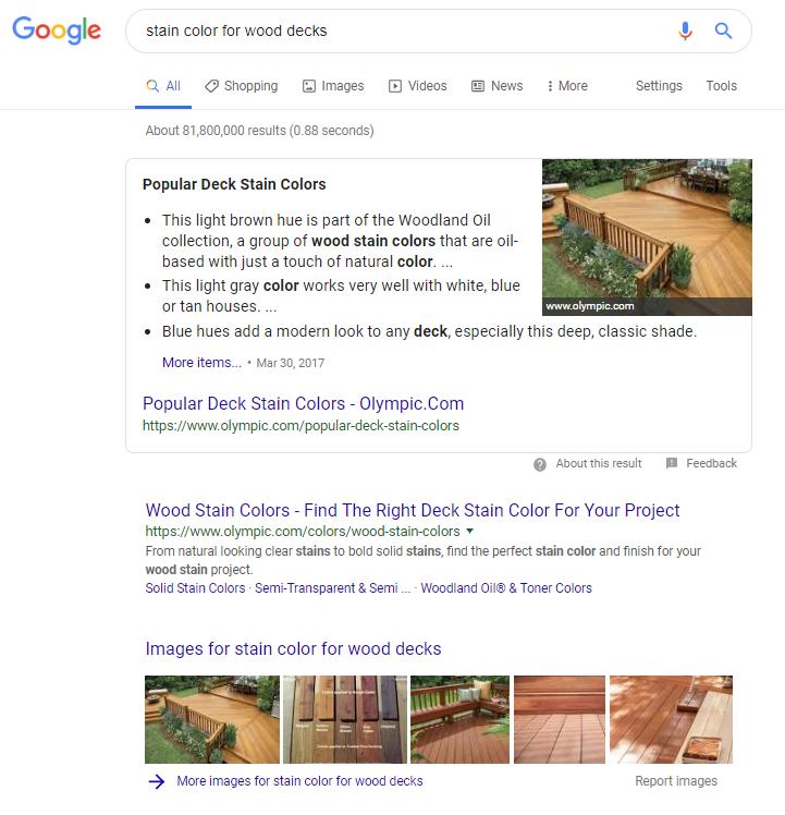 serp do google