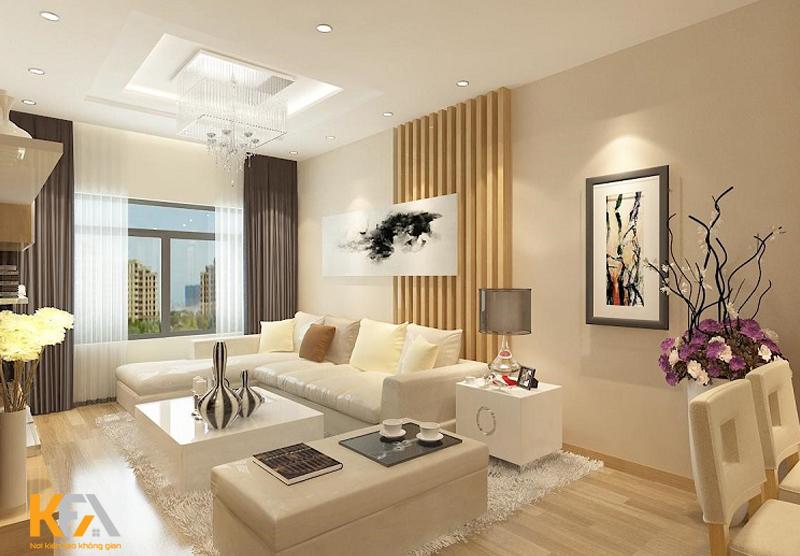 Thiết kế nội thất chung cư 40m2 tối ưu chi phí
