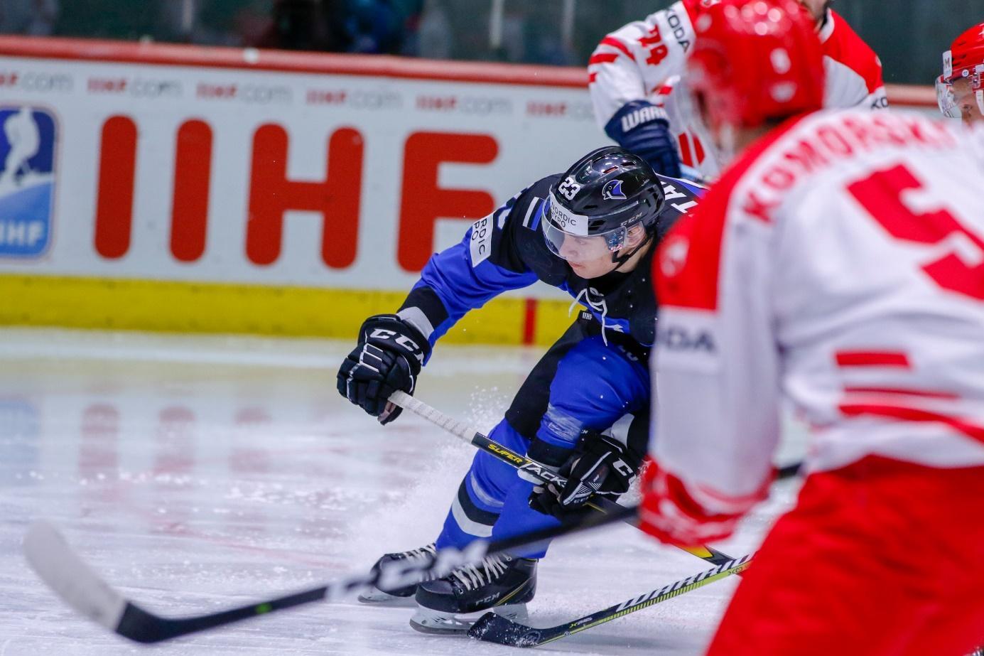 IIHF - Gallery: Estonia vs. Poland - 2019 IIHF Ice Hockey ...
