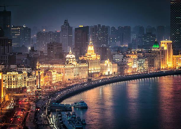上海外灘 萬國博覽建築 燈光秀