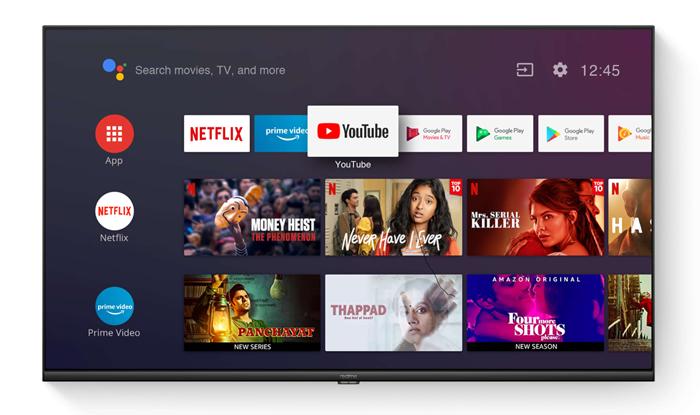 realme smart TV 32 นิ้ว Android TV