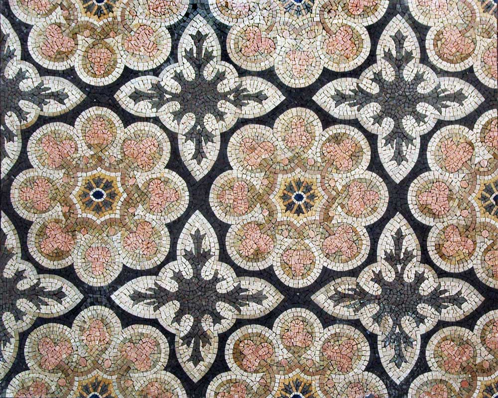 Lallana - Floral Mosaic Patterns by Mozaico
