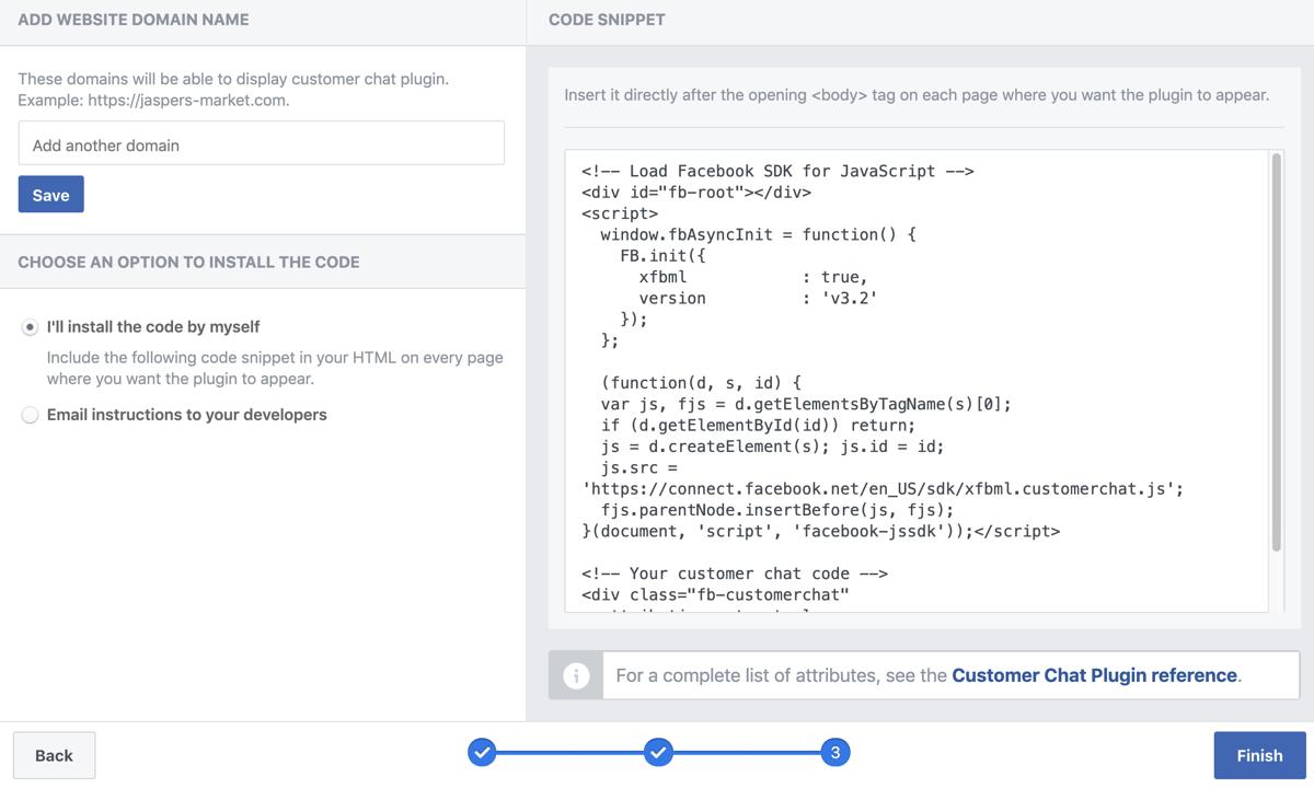 Thay đổi mã HTML thành một tập lệnh