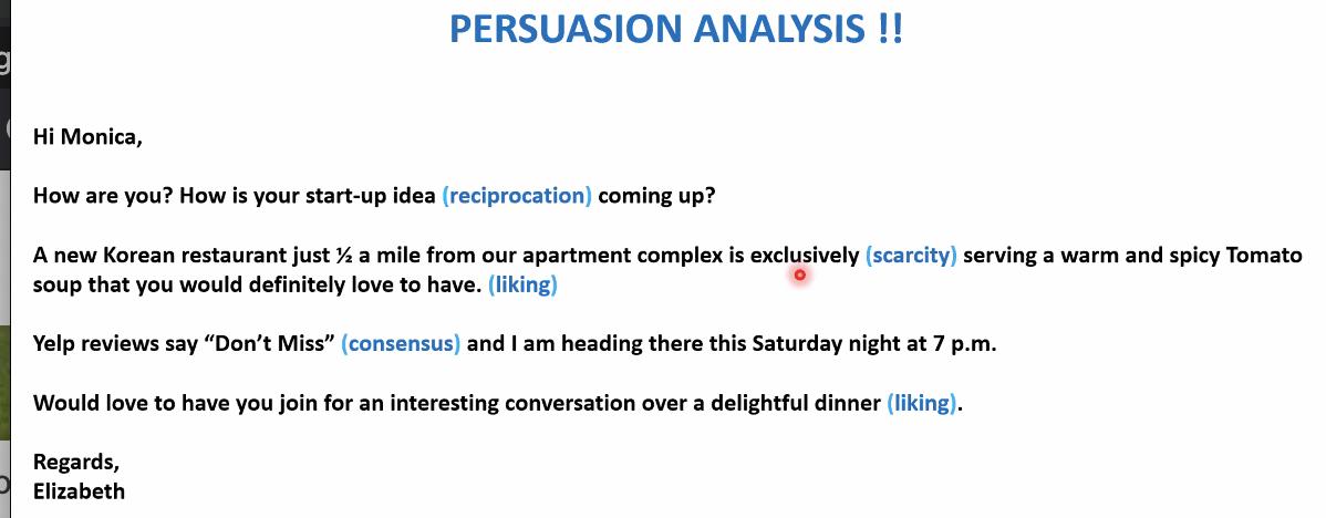 six persuasive techniques