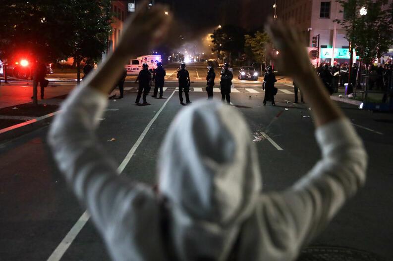 protestas george floyd black lives matter mayo 31 2020 minneapolis minnesota