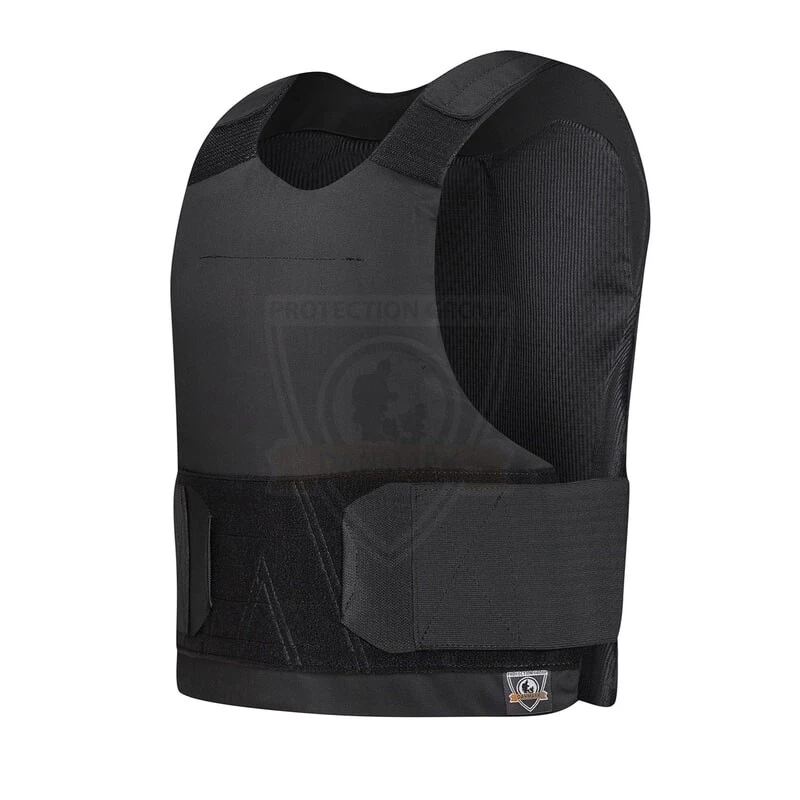Protection Group Denmark Level IIIA Black Alpha Bullet and Stab Proof Vest