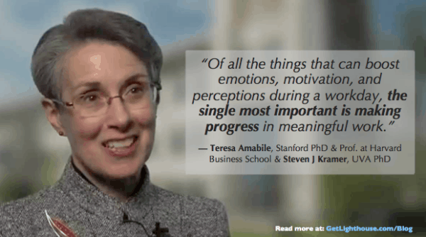 Teresa Amabile knows all about how to keep employees from quitting