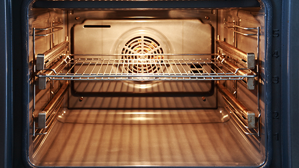 The fan in a convection oven circulates hot air throughout the oven Source: Conner's Appliance