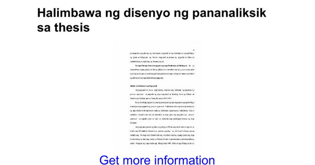 abstrak ng isang thesis Abstrak ang pananaliksik-papel na ito ay alam natin na ang pagkakaroon ng malakingkatawan ay walang pakinabang sa pamumuhay ng isang filipino thesis.