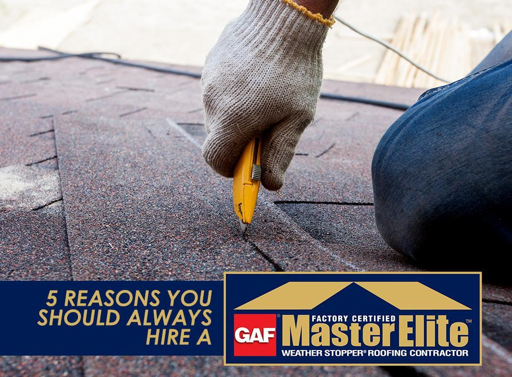 GAF Master Elite™ Roofer